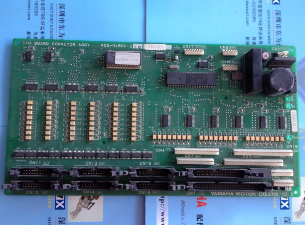 YAMAHA板卡 雅马哈板卡YKG2-M4520-210 IO BOARD CONVEYOR ASS YTF轨道控制板卡